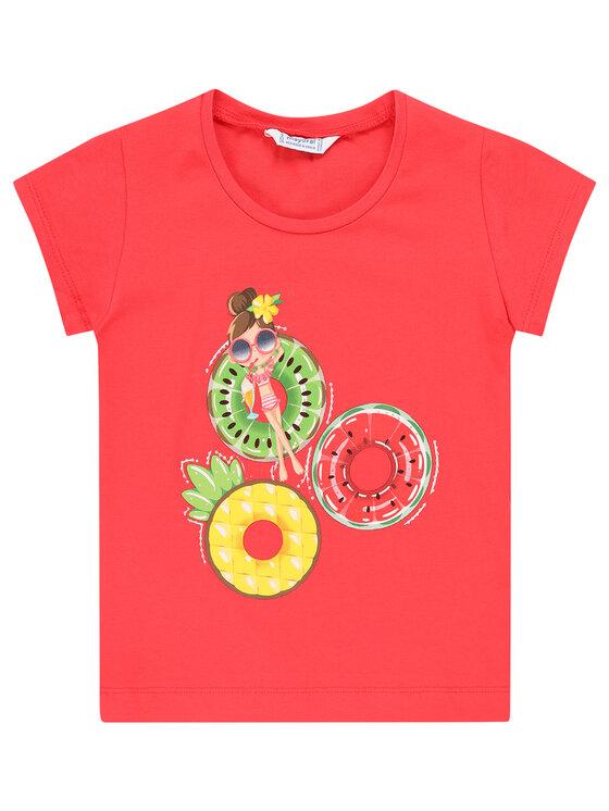 Mayoral Mayoral T-Shirt 3017 Różowy Regular Fit