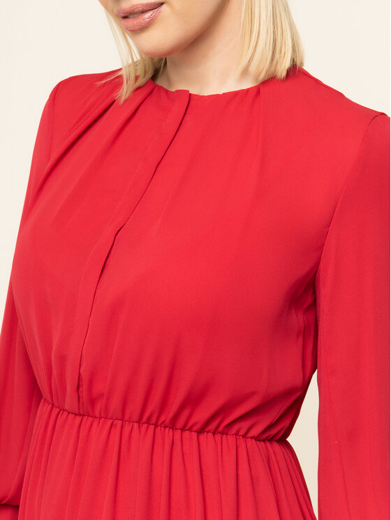 iBlues iBlues Robe de cocktail 72262896200 Rouge Regular Fit