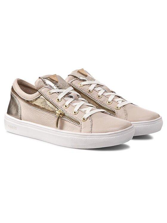 Guess Guess Обувки Shebina FL2SHN LEA12 Бежов