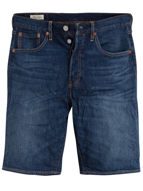 Levi's® Levi's Τζιν σορτσάκια 501® Hemmed 36512-0092 Σκούρο μπλε Regular Fit