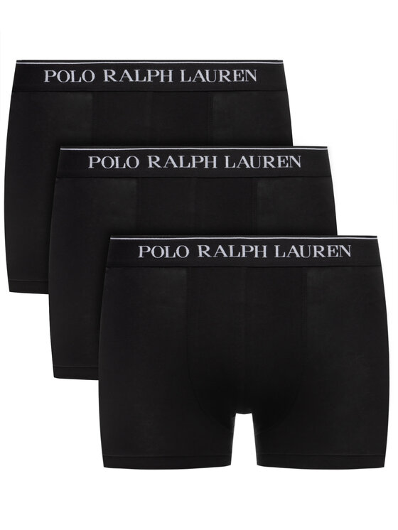 Polo Ralph Lauren Polo Ralph Lauren Σετ 3 ζευγάρια μποξεράκια 714513424 Μαύρο