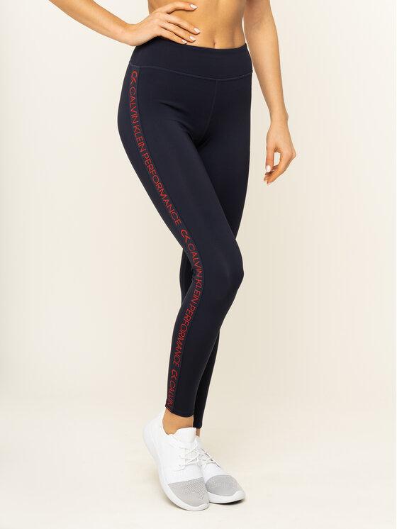Calvin Klein Performance Calvin Klein Performance Leggings Full Lenght Tight 00GWH9L612 Dunkelblau Slim Fit