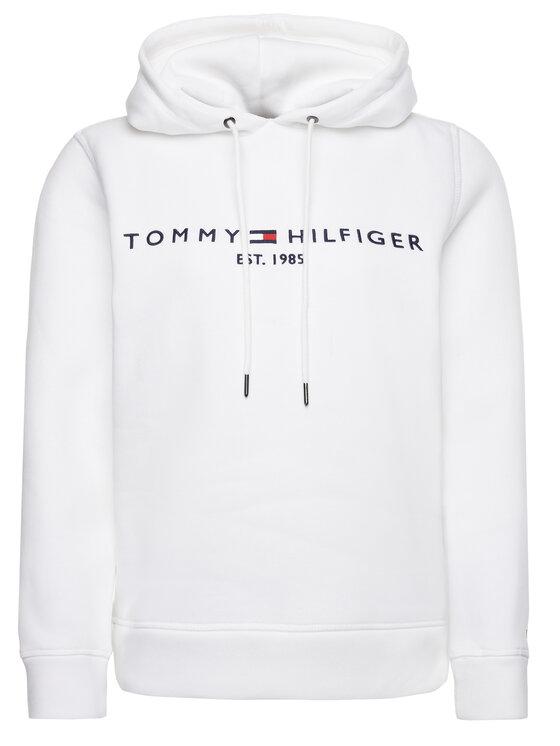 Tommy Hilfiger Tommy Hilfiger Mikina Ess WW0WW26410 Biela Regular Fit
