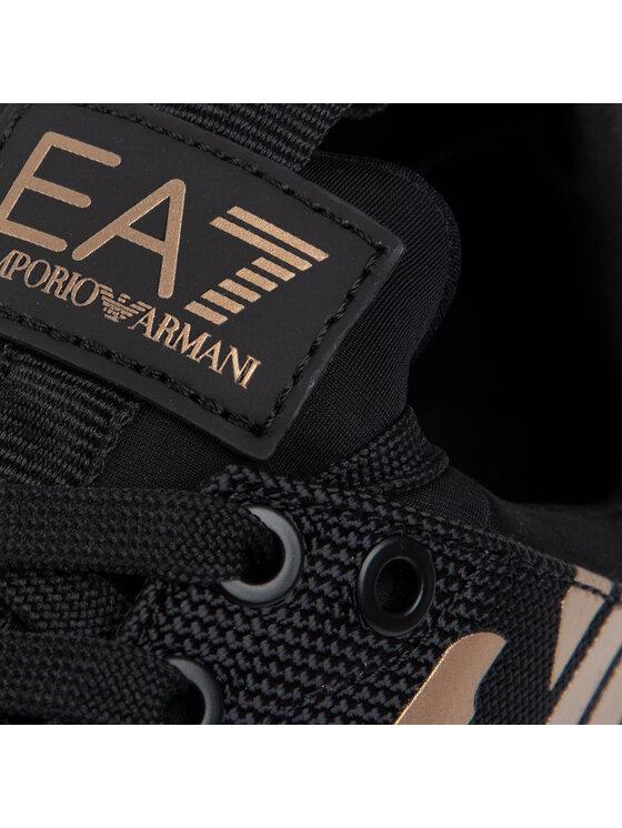 EA7 Emporio Armani EA7 Emporio Armani Sneakersy X8X007 XK008 N692 Čierna