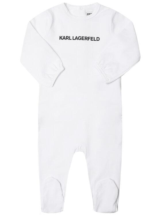 KARL LAGERFELD KARL LAGERFELD Śpiochy Z97030 Biały Regular Fit