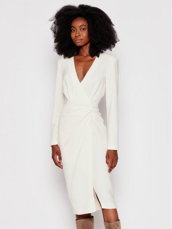 IRO Kokteilinė suknelė Nefa AP140 Smėlio Regular Fit