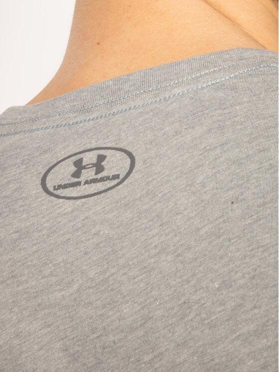 Under Armour Under Armour Póló Ua Sportstyle Logo 1329590 Szürke Regular Fit