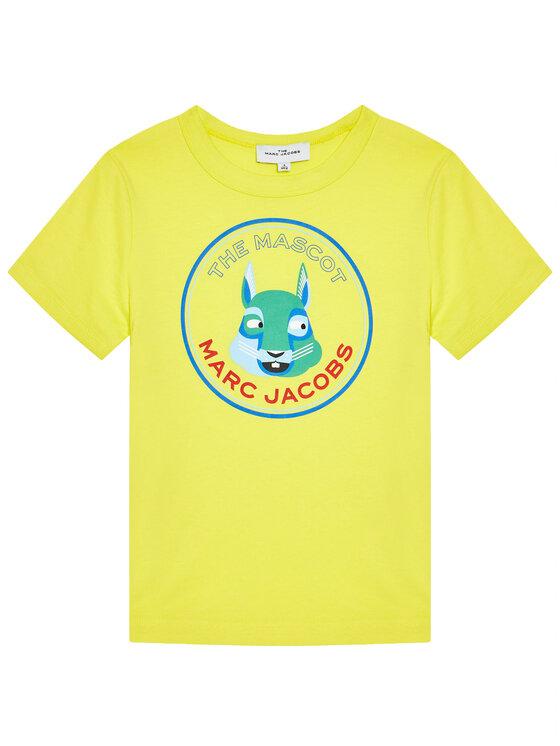 Little Marc Jacobs Little Marc Jacobs T-Shirt W25464 D Żółty Regular Fit