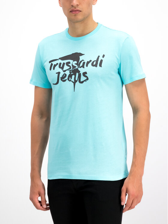 Trussardi Trussardi T-shirt 52T00240 Bleu Regular Fit