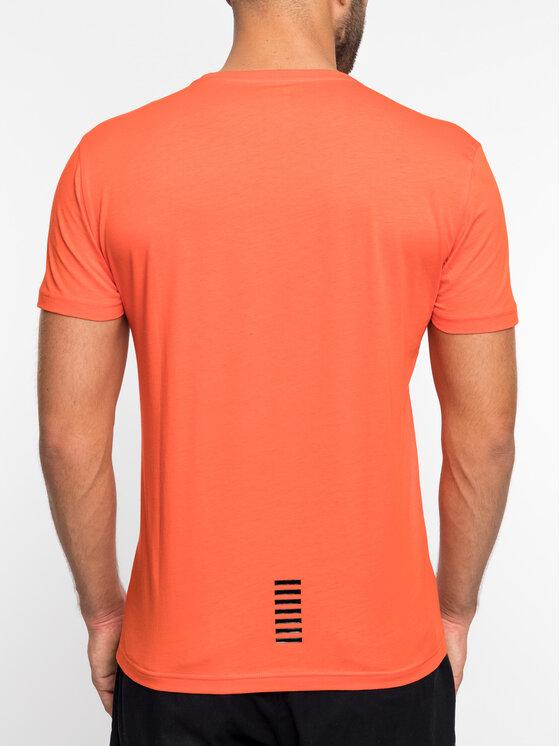 EA7 Emporio Armani EA7 Emporio Armani T-Shirt 3GPT51 PJM9Z 1683 Pomarańczowy Regular Fit