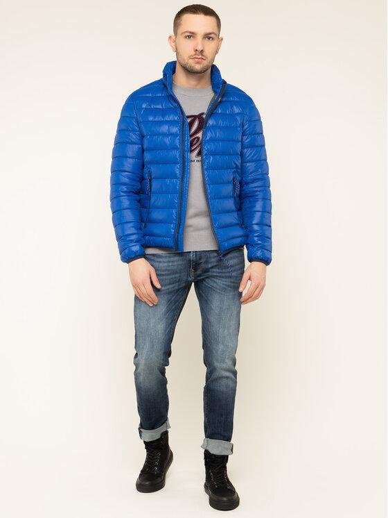 Pepe Jeans Pepe Jeans Geacă din puf Rick PM402138 Albastru Regular Fit