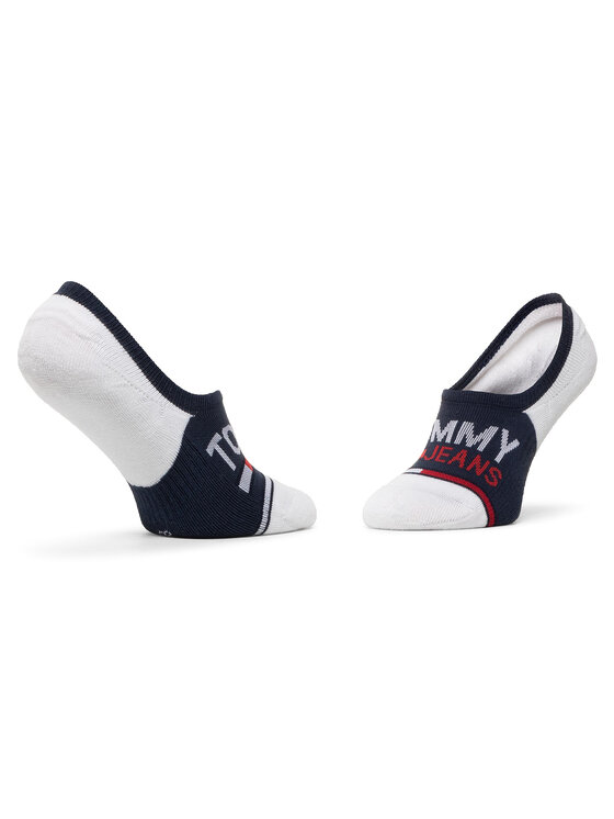 Tommy Jeans Tommy Jeans Zestaw 2 par stopek unisex 100000402 Biały
