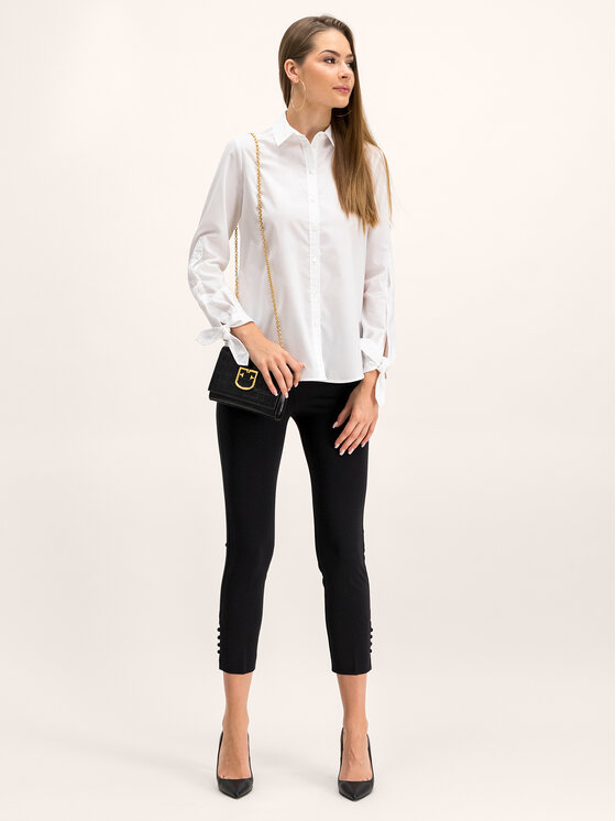 Pennyblack Marškiniai Eboli 31145019 Balta Regular Fit