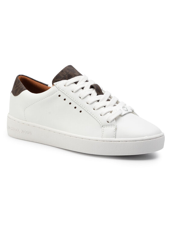 MICHAEL Michael Kors MICHAEL Michael Kors Sneakersy Irving Lace Up 43S7IRFS3L Biały