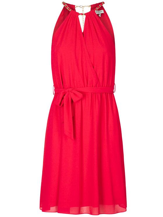 Morgan Morgan Sukienka koktajlowa 211-RNESSA Różowy Regular Fit