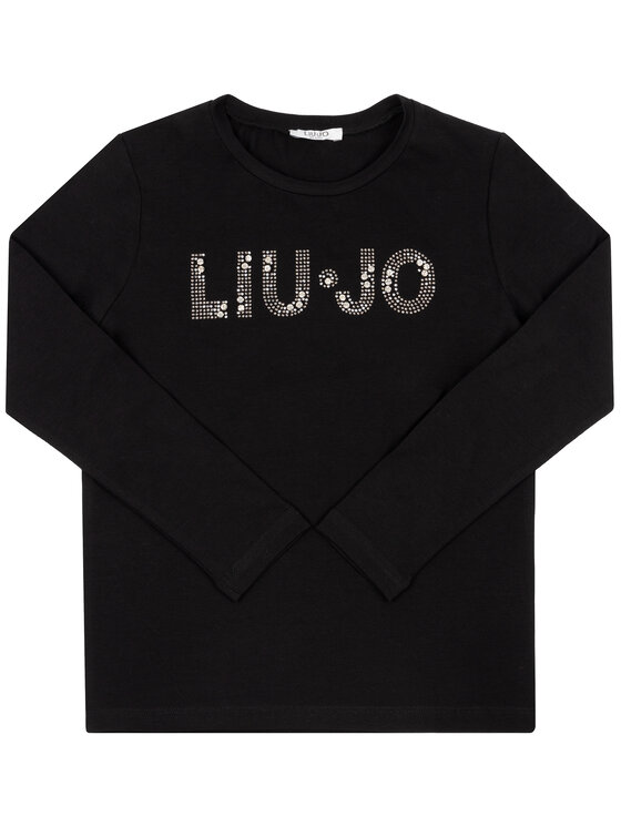 Liu Jo Kids Liu Jo Kids Blusa G69010 J0088 Nero Regular Fit