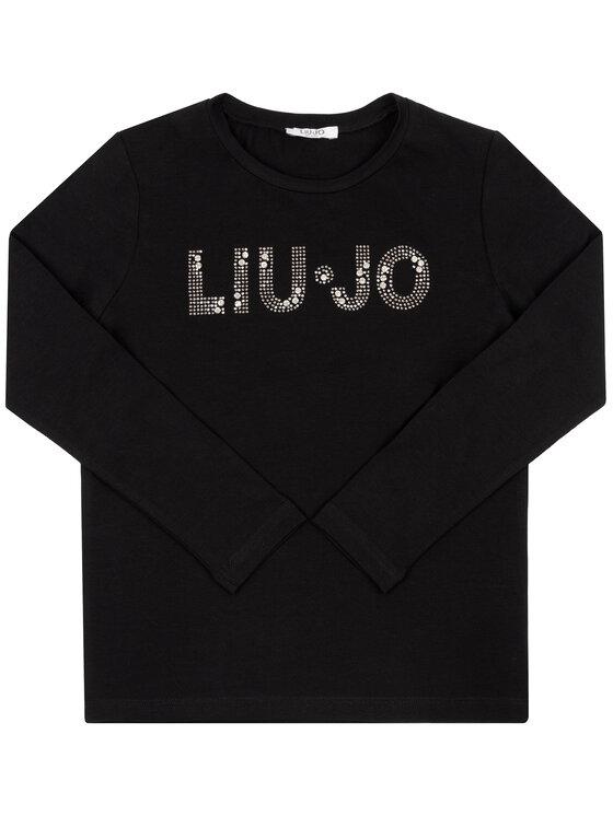 Liu Jo Kids Liu Jo Kids Halenka G69010 J0088 Černá Regular Fit