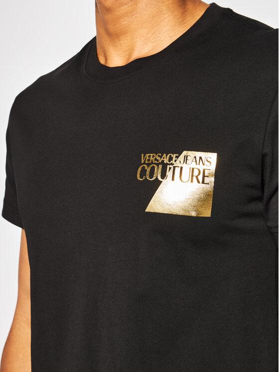 Versace Jeans Couture Versace Jeans Couture Tričko B3GVB7TS Čierna Slim Fit