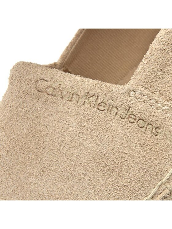 Calvin Klein Jeans Calvin Klein Jeans Espadrilky Cord SE8500 Béžová
