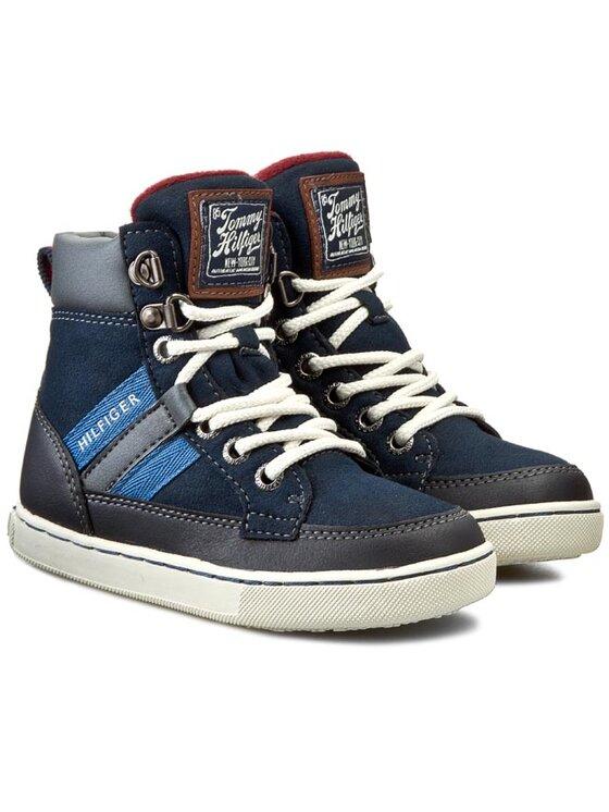 Tommy Hilfiger Tommy Hilfiger Laisvalaikio batai Mason Jr 1C FB56819731 Tamsiai mėlyna