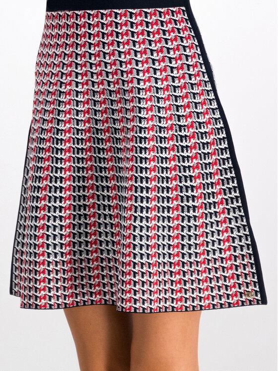 Tommy Hilfiger Tommy Hilfiger Trikotažinė suknelė Varena WW0WW25354 Raudona Slim Fit