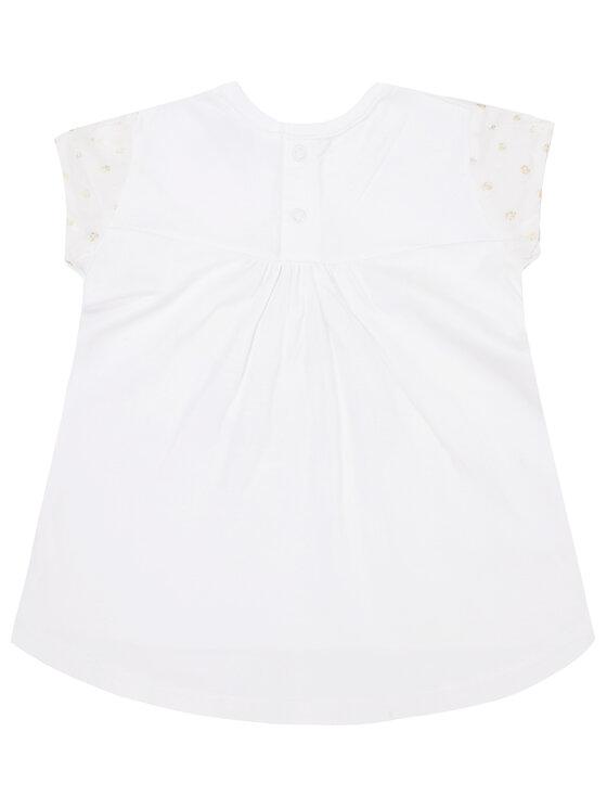 Mayoral Mayoral Komplektas: marškinėliai ir tamprės 1746 Balta Regular Fit