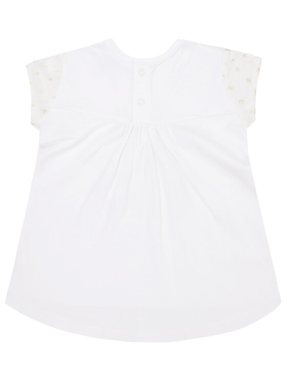 Mayoral Mayoral Komplet t-shirt i legginsy 1746 Biały Regular Fit