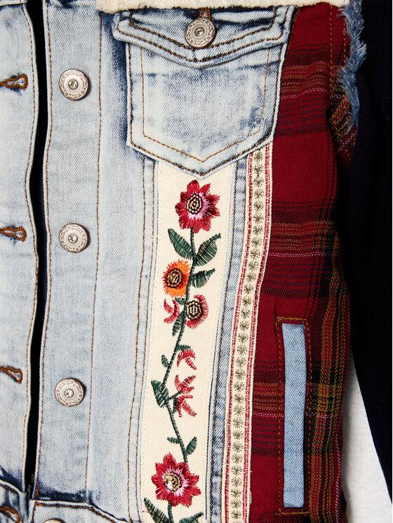 Desigual Desigual Kurtka jeansowa Exotic 20WGED05 Granatowy Regular Fit