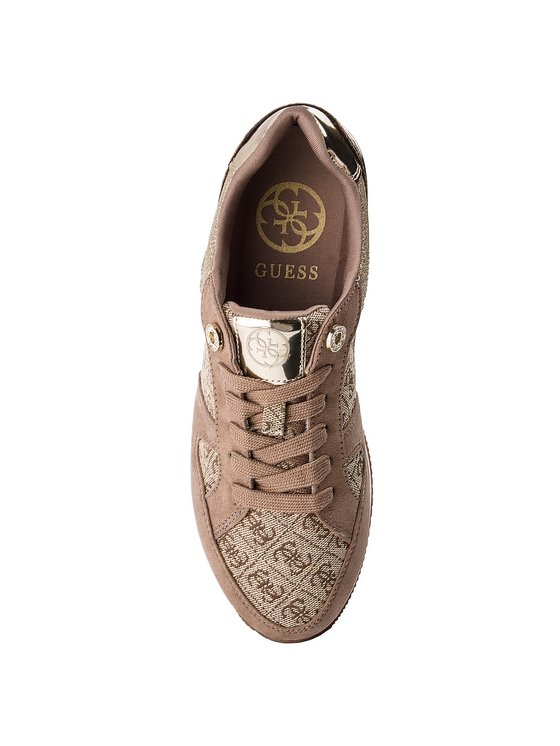 Guess Guess Sneakersy FLDA44 FAL12 Béžová
