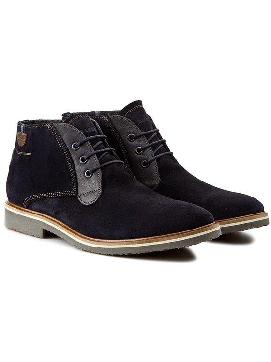 Lloyd Lloyd Kotníková obuv Sterling 25-574-32 Tmavomodrá