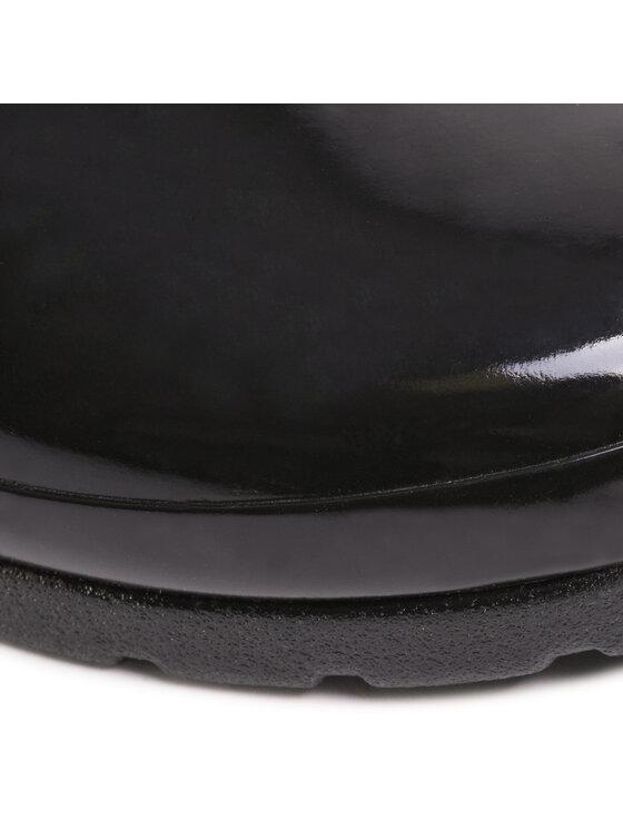 Hunter Hunter Kalosze Refined Gloss Quilt Short WFS1029RGL Czarny