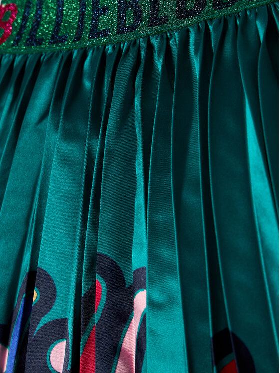 Billieblush Billieblush Spódnica U13262 Zielony Regular Fit