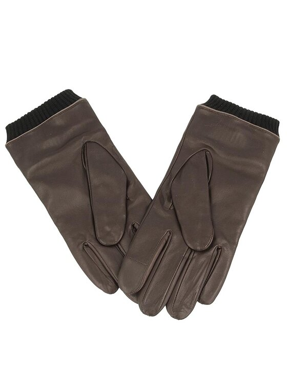 Gino Rossi Gino Rossi Pánske rukavice AR0103-000-0088-3700-X Hnedá