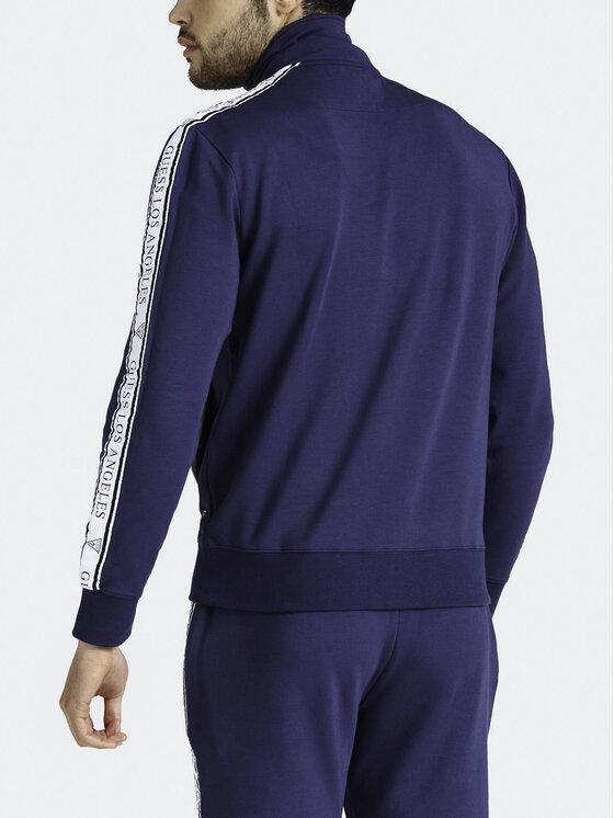 Guess Guess Džemperis M93Q35 K8S60 Tamsiai mėlyna Regular Fit