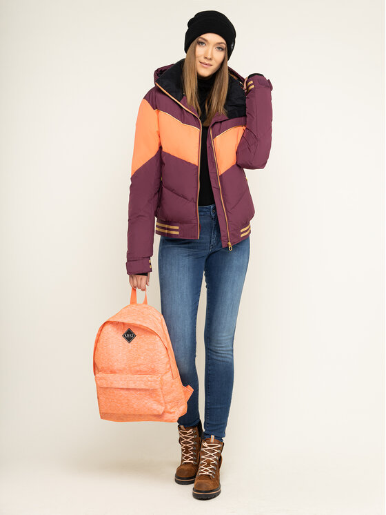 Roxy Roxy Snieglenčių striukė Taorah Bright Summit ERJTJ03216 Violetinė Regular Fit