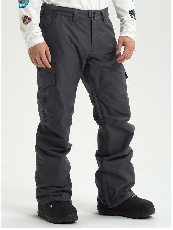 Burton Snieglenčių kelnės Cargo 13166105021 Pilka Regular Fit