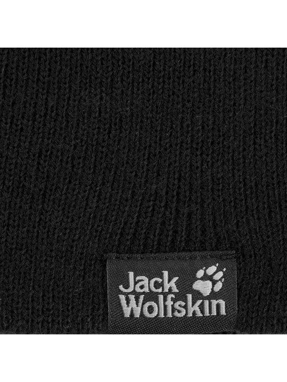 Jack Wolfskin Jack Wolfskin Sapka Rib Hat 1903891 Fekete