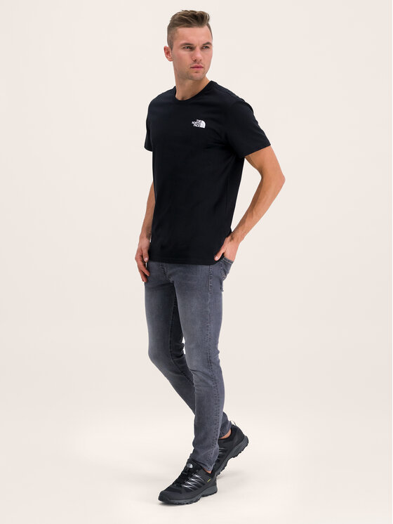 The North Face The North Face T-Shirt Simple Dome NF0A2TX5JK3 Czarny Regular Fit