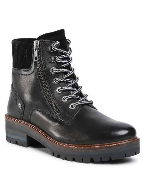 Wrangler Aulinukai Denver Zip Leather WL02543A Juoda
