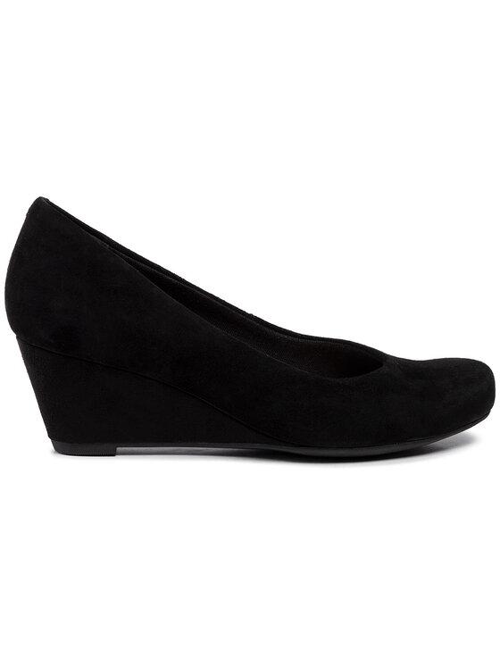 Clarks Clarks Κλειστά παπούτσια Flores Tulip 261289714 Μαύρο
