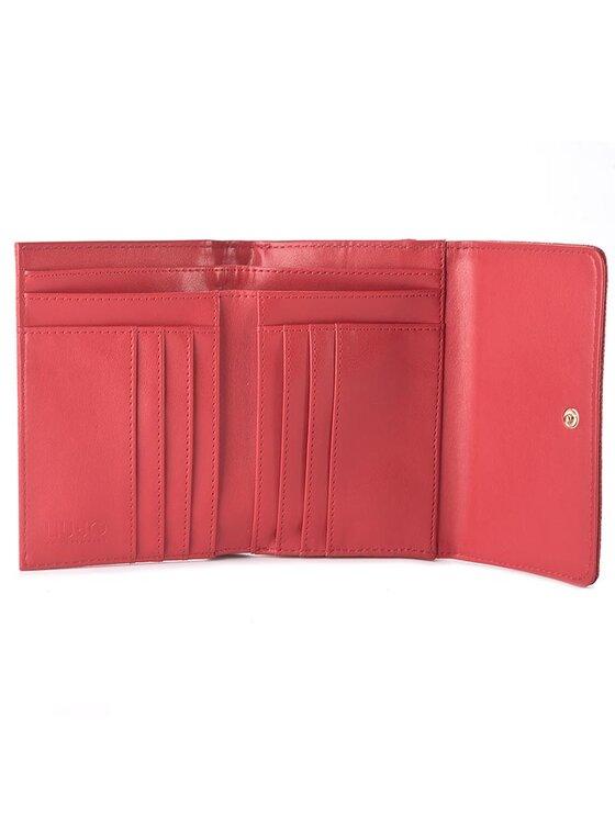 Liu Jo Liu Jo Duży Portfel Damski Portafoglio Medio C N67127 E0087 Czerwony