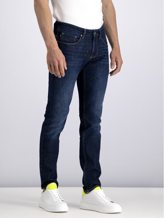 JOOP! Jeans Joop! Jeans Prigludę (Slim Fit) džinsai 30015466 Tamsiai mėlyna Slim Fit