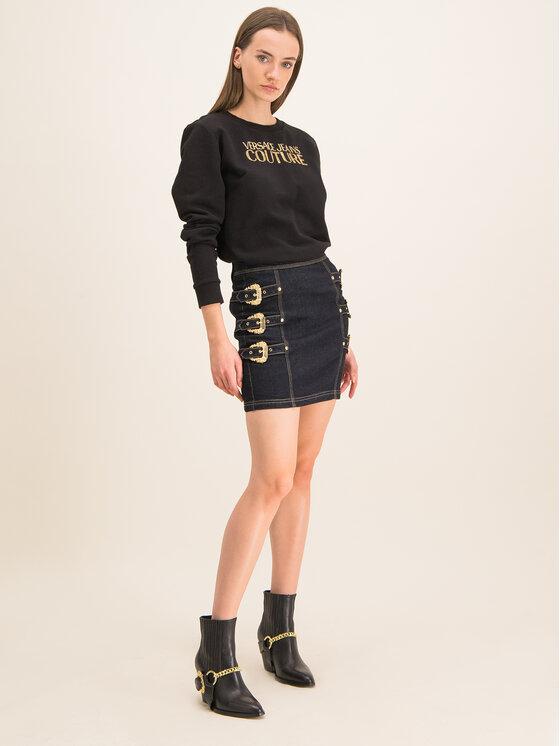 Versace Jeans Couture Versace Jeans Couture Φούστα τζιν A9HUA301 Σκούρο μπλε Slim Fit
