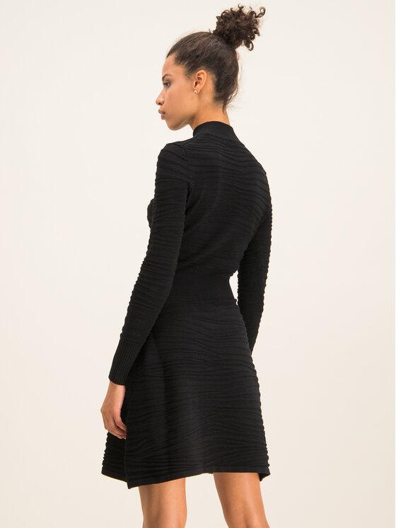 Hugo Hugo Плетена рокля Sumeeya 50430666 Черен Slim Fit