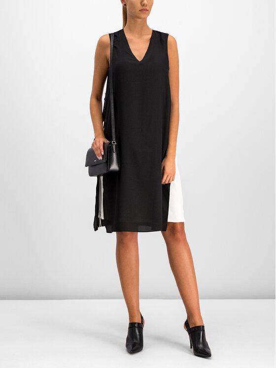 DKNY DKNY Koktejlové šaty P9EB6B5M Černá Regular Fit