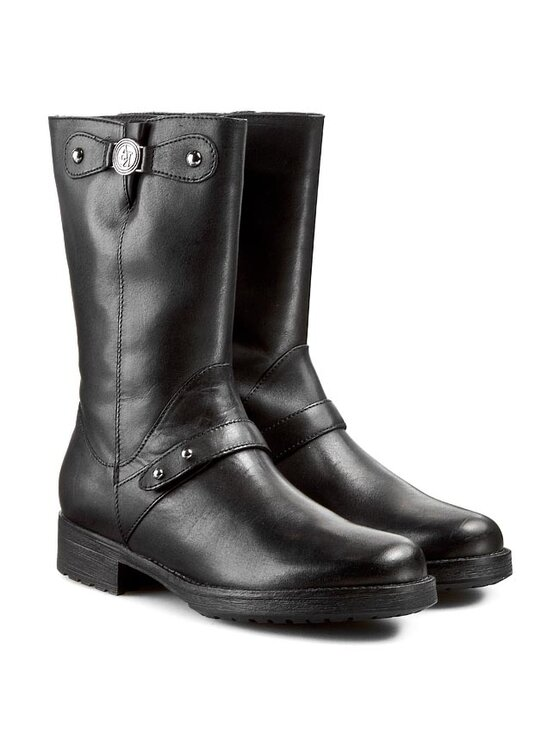 Armani Jeans Armani Jeans Μποτάκια Z55E1 61 12 Μαύρο