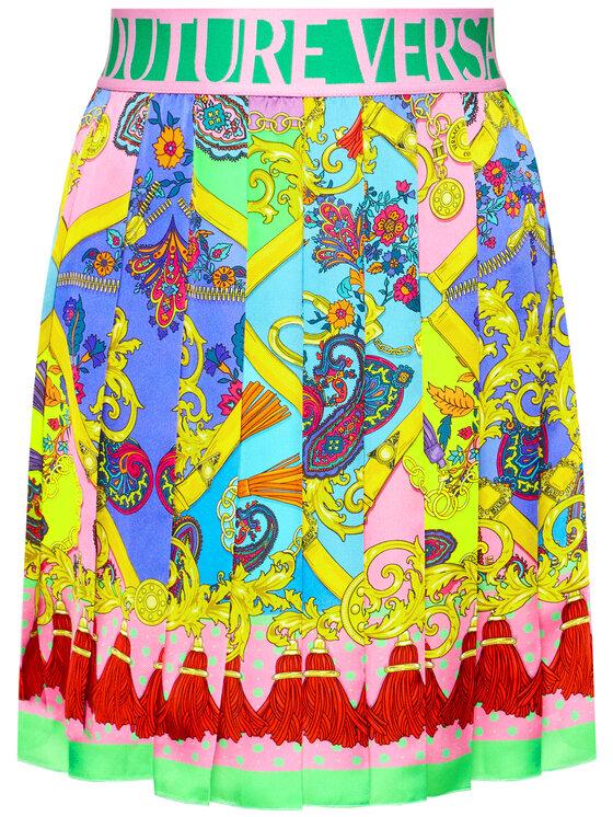 Versace Jeans Couture Versace Jeans Couture Fustă plisată A9HZA302 Roz Regular Fit