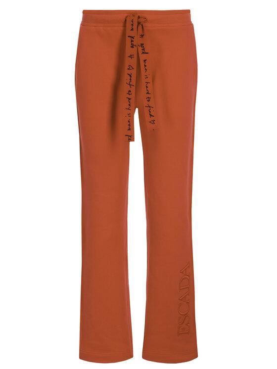 Escada Sport Escada Sport Spodnie dresowe RITA ORA Teheart 5032367 Czerwony Regular Fit