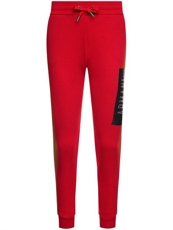 Armani Exchange Armani Exchange Teplákové kalhoty 6GYP76 YJE5Z 1469 Červená Regular Fit