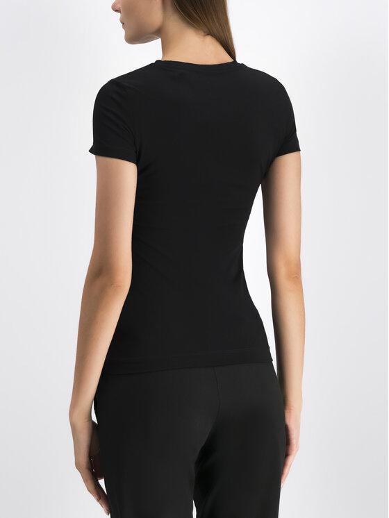Guess Guess T-Shirt W94I20 J1300 Czarny Regular Fit
